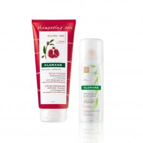 GIFT WITH PURCHASE: Klorane Color Enhancing Anti-Fade Shampoo 200ml + Dry Shampoo 50ml
