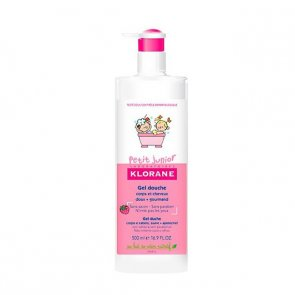 Klorane Petit Junior Shower Gel Hair and Body Raspberry 500ml