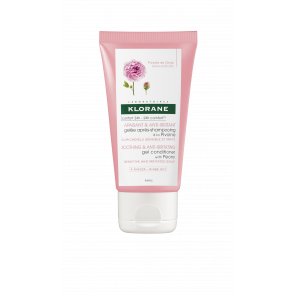 TAMANHO DE VIAGEM: Klorane Soothing & Anti-Irritating Gel Conditioner with Peony 50ml