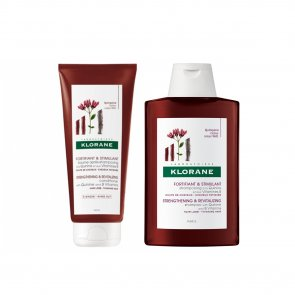 PACK PROMOCIONAL: Klorane Strengthening & Revitalizing Conditioner 200ml + Shampoo 200ml