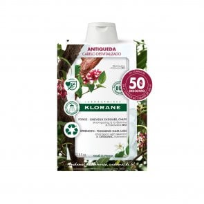PROMOTIONAL PACK: Klorane Strengthening Shampoo for Hair Loss & Thinning 400ml x2