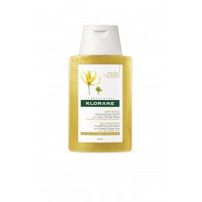 TRAVEL SIZE: Klorane Sun Radiance Nourishing Shampoo with Ylang Ylang 100ml