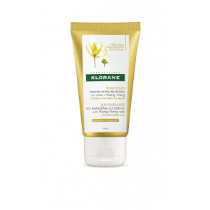 TRAVEL SIZE: Klorane Sun Radiance Rich Conditioner with Ylang Ylang 50ml