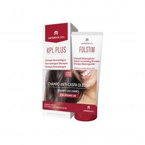PROMOTIONAL PACK: KPL Plus Shampoo 200ml + Folstim Sebo-Regulating Shampoo 200ml