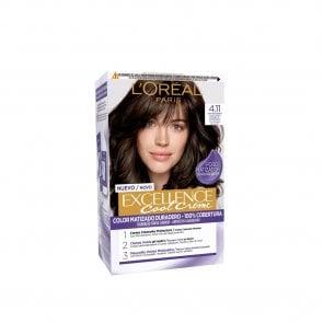 L'Oréal Paris Excellence Cool Creme 4.11 Ash Brown Hair Dye