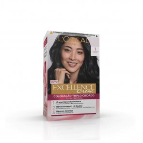 L'Oréal Paris Excellence Creme 1 Black Hair Dye
