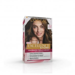 L'Oréal Paris Excellence Creme 4.3 Golden Brown Hair Dye