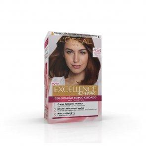 L'Oréal Paris Excellence Creme 4.54 Dark Copper Mahogany Hair Dye