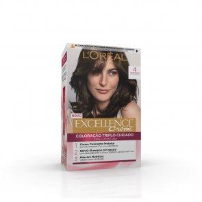 L'Oréal Paris Excellence Creme 4 Natural Brown Hair Dye