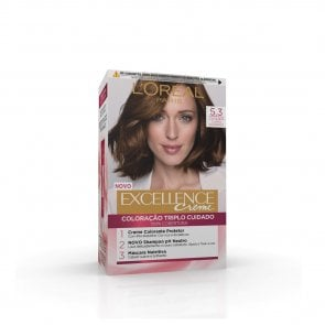 L'Oréal Paris Excellence Creme 5.3 Light Chestnut Hair Dye