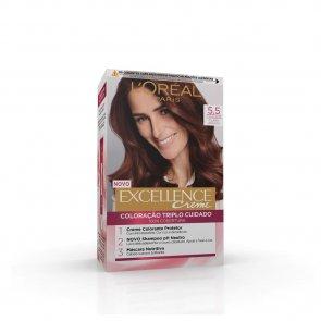 L'Oréal Paris Excellence Creme 5.5 Mahogany Brown Hair Dye