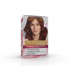 L'Oréal Paris Excellence Creme 6.46 Light Copper Red Hair Dye