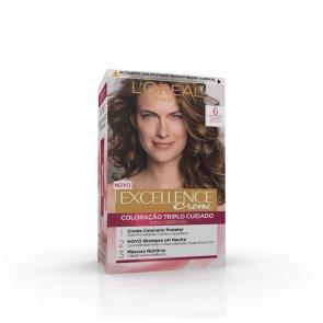 L'Oréal Paris Excellence Creme 6 Natural Light Brown Hair Dye