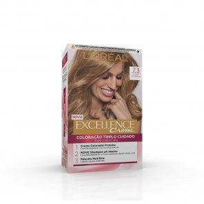 L'Oréal Paris Excellence Creme 7.3 Natural Dark Golden Blonde Hair Dye