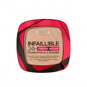 L'Oréal Paris Infallible 24h 2-In-1 Powder Foundation 130 True Beige
