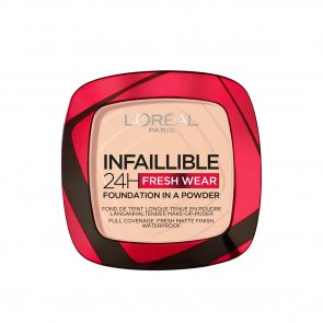 L'Oréal Paris Infallible 24h 2-In-1 Powder Foundation 180 Rose Sand