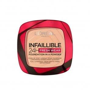 L'Oréal Paris Infallible 24h 2-In-1 Powder Foundation 245 Golden Honey