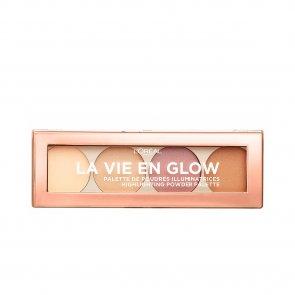 L'Oréal Paris La Vie En Glow Highlighting Palette 01 Warm Glow 5g