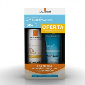 PROMOTIONAL PACK: La Roche-Posay Anthelios Spray SPF50+ 200ml + Posthelios Gel 100ml