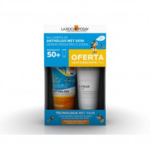 PROMOTIONAL PACK: La Roche-Posay Anthelios Wet Skin Gel SPF50+ 250ml + Lipikar Milk 75ml
