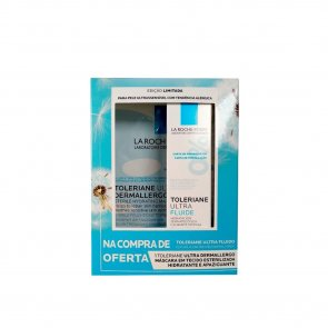 PROMOTIONAL PACK: La Roche-Posay Toleriane Ultra Fluid 40ml + Dermallergo Sheet Mask 28g