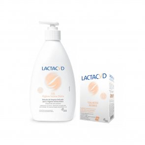 PROMOTIONAL PACK: Lactacyd Intimate Hygiene Gel 400ml + Moist Intimate Wipes x10