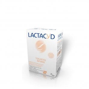 Lactacyd Moist Intimate Wipes x10