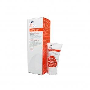 PACK PROMOCIONAL: LETI AT4 Atopic Skin Body Cream 200ml + 50ml