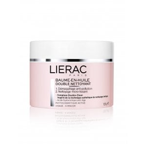 Lierac Double Cleansing Balm-in-Oil Dry Skin 120g