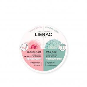 Lierac Hydragenist Moisturizing Mask 6ml + Sébologie Scrub Mask 6ml