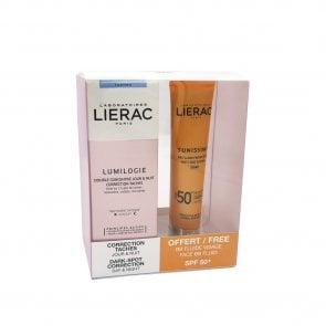 PROMOTIONAL PACK: Lierac Lumilogie Dark-Spot Correction 30ml + Sunissime BB SPF50+ 40ml