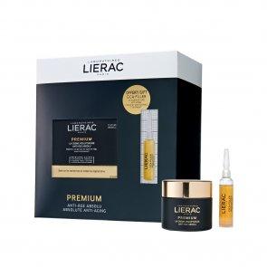 COFFRET: Lierac Premium The Voluptuous Cream 50ml + Cica-Filler Serum 10ml