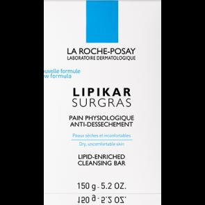 La Roche-Posay Lipikar Surgras Sabonete Anti-Ressecamento 150g
