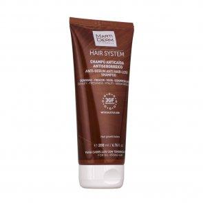 MartiDerm Hair System 3GF Shampoo Anti-Sebo Anti-Queda Cabelo 200ml