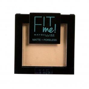 Maybelline Fit Me Matte & Poreless Powder 115 Ivory 9g