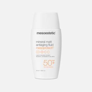 Mesoestetic Mesoprotech Mineral Matt Antiaging Fluid SPF50+ 50ml