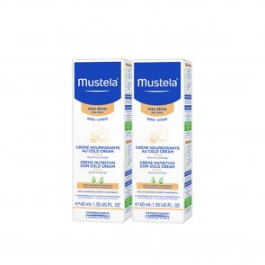 PROMOTIONAL PACK: Mustela Baby Cold Cream Nutri-Protective Face Cream 40ml x 2