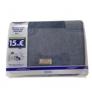 GIFT SET: Mustela Baby Wipes 70x2 + Diaper Cream 50ml + Blue Necessaire