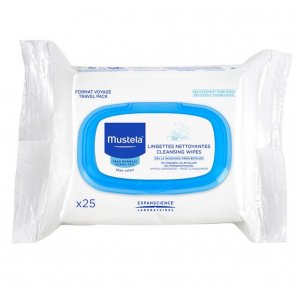 Mustela Baby Facial Cleansing Wipes 25 Units