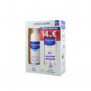 PACK PROMOCIONAL: Mustela Baby Foam Shampoo Cradle Cap 150ml + Cradle Cap Cream 40ml