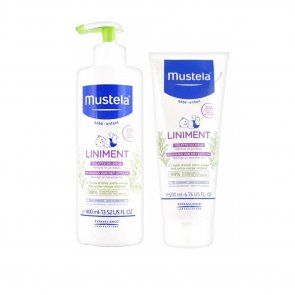 PACK PROMOCIONAL: Mustela Baby Liniment Diaper Area 400ml + Liniment Diaper Area 200ml