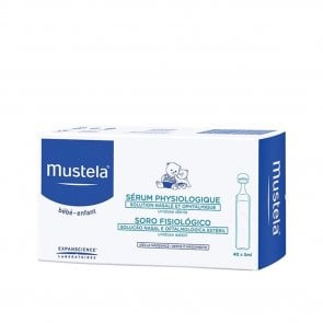 Mustela Baby Physiological Saline Solution Eyes&Nose 40x5ml