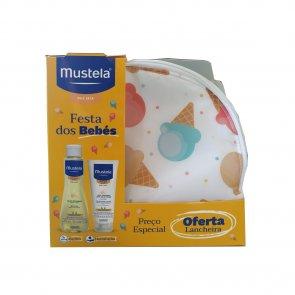 GIFT SET: Mustela Baby Shower Dry Skin Lunch Box Coffret