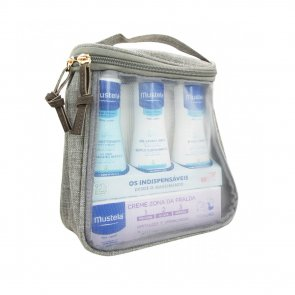 GIFT SET: Mustela Essential Kit 4 Products for Babies Newborns Travel Sizes TAUPE