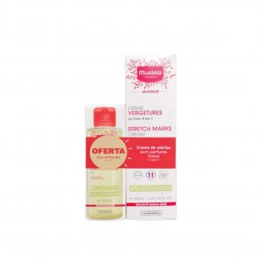 PROMOTIONAL PACK: Mustela Maternité Stretch Marks Cream Fragrance-Free 150ml + Oil 105ml