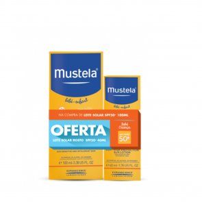 PROMOTIONAL PACK: Mustela Sun Very High Protection Sun Lotion SPF50+ 100ml + 40ml