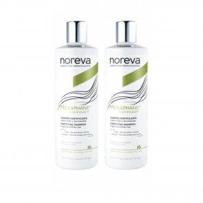 PROMOTIONAL PACK: Noreva Hexaphane Fortifying Shampoo Fragile Hair 2x400ml