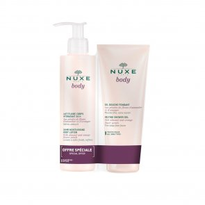 PROMOTIONAL PACK: NUXE Body 24h Moisturizing Body Lotion 400ml + Shower Gel 200ml
