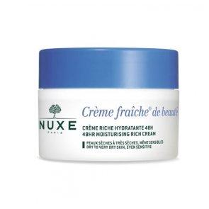 NUXE Crème Fraîche de Beauté 48h Moisturizing Rich Cream 50ml