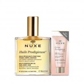 PACK PROMOCIONAL: NUXE Huile Prodigieuse Dry Oil 100ml + Crème Prodigieuse Boost 15ml
